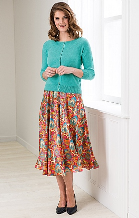 Liberty Silk Skirt
