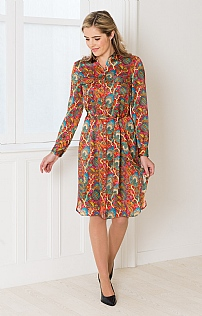 Liberty Silk Dress