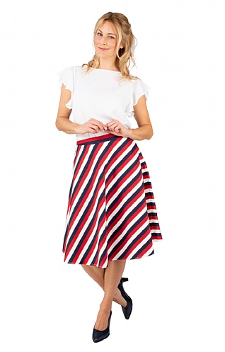 Seidensticker Striped Skirt