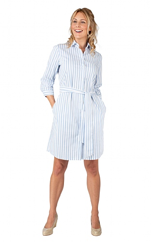 Seidensticker Stripe Collar Dress