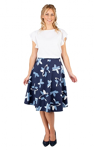 Seidensticker Print Skirt
