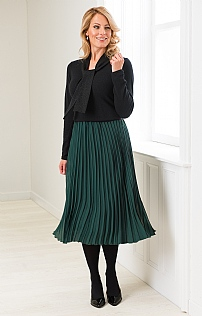 Chiffon Pleat Skirt