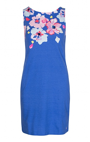 Joules Riva Print Sleeveless Dress