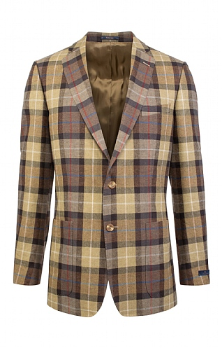Magee of Ireland Linen & Wool Classic Jacket