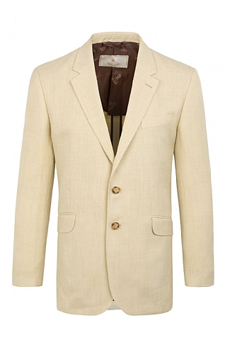 Tailored Linen Blend Jacket