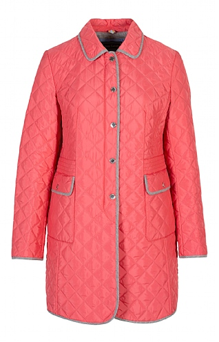 3/4 Length Quilted Jacket