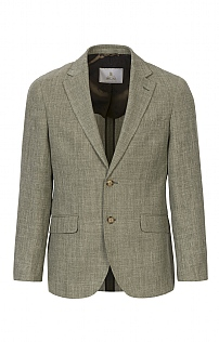 Men's Tailored Linen Blend Jacket