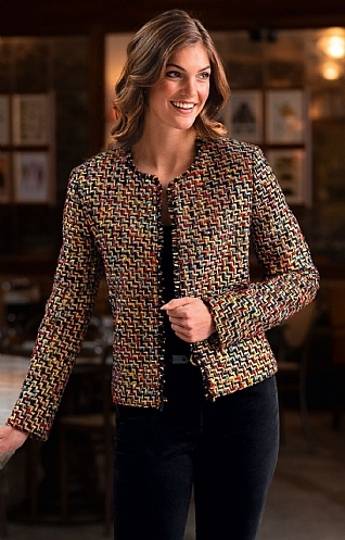 Contemporary Boucle Jacket