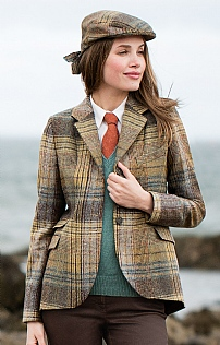Ladies Tweed Riding Jacket