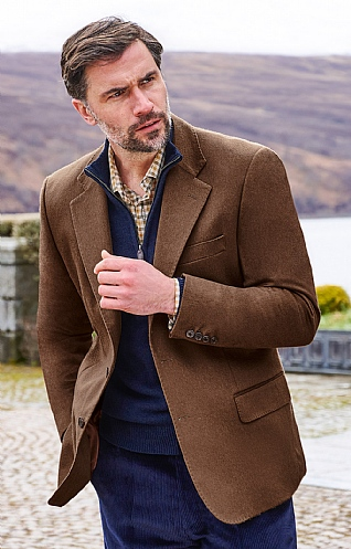 Mens Cashmere Jacket