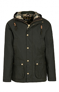 Mens Barbour Hooded Bedale Coat