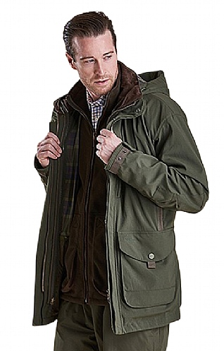 Mens Barbour Peregrine Shooting Coat