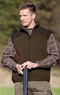 Mens Seeland William Fleece Gilet