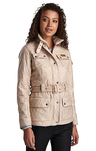 Ladies Barbour International Polar Quilt Jacket