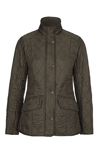 Ladies Barbour  Cavalry Quilt Jacket