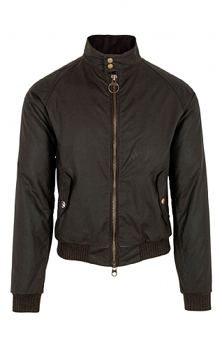 56b47332 Mens Barbour International Merchant Wax Jacket