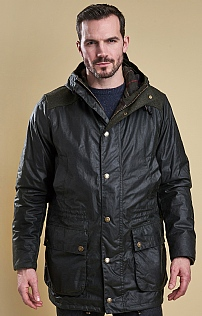 Barbour Waddow Wax Parka Jacket