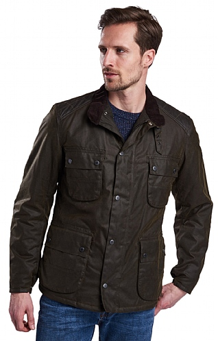 Barbour International Weir Wax Jacket
