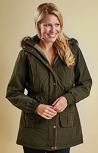 Ladies Barbour Bower Parka