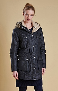 Ladies Barbour Carribena Wax Jacket