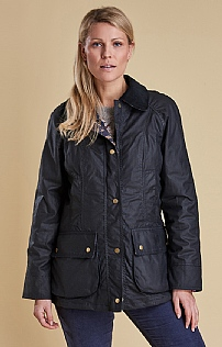 Ladies Barbour Rannoch Wax Jacket