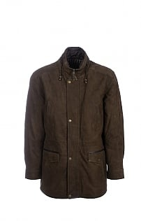 Mens Walker Nubuck Coat