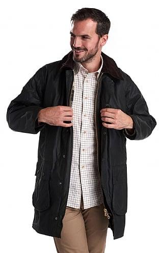 Mens Barbour Wax Jacket