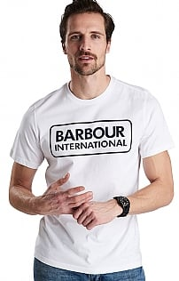 Barbour International Essential Large Logo Tee