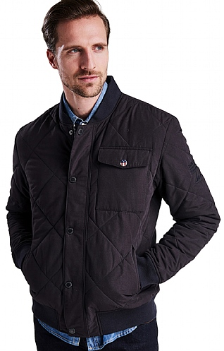Barbour International State Quilt Jacket