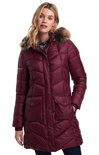 Barbour Clam Quilt Coat