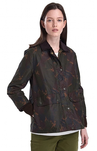 Barbour Feather Tawny Jacket