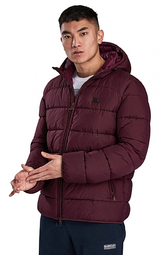 Barbour International Court Quilt Jacket