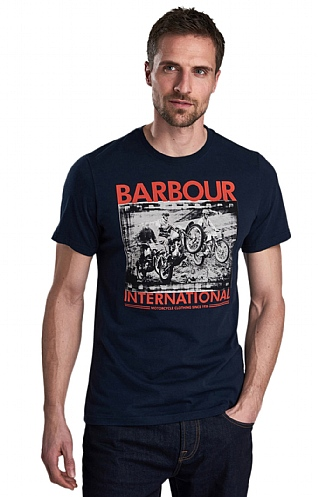 Barbour International Archive Biker Tee