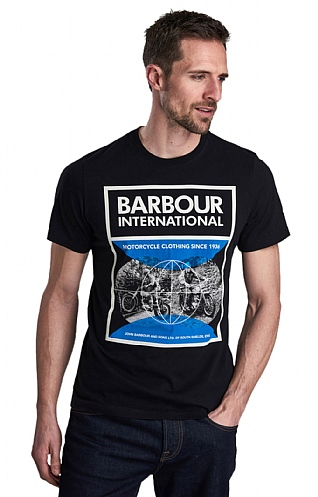 Barbour International Archive Comp Tee