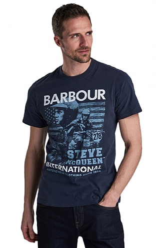 Barbour International Collage Tee