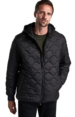 Barbour International Acoustic Quilt jacket