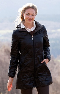 Ladies Reversible Down Coat