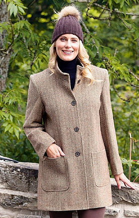 Ladies Patch Pocket Coat