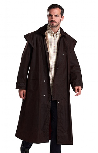 Barbour Stockman Waxed Coat