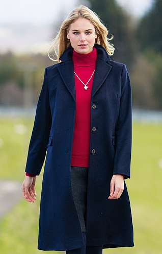 College Cashmere Coat