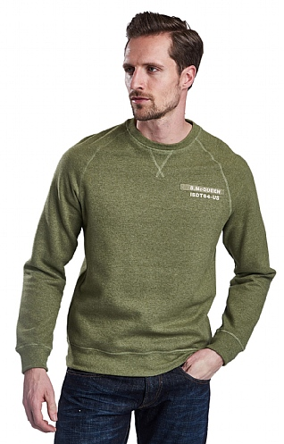 Barbour International Issue Crew Neck Sweater
