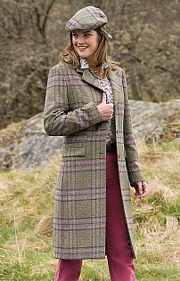 Ladies Tweed Cheltenham Coat