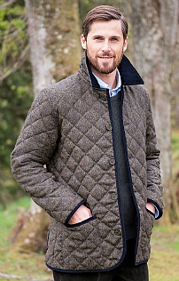 Tweed Quilt Jacket