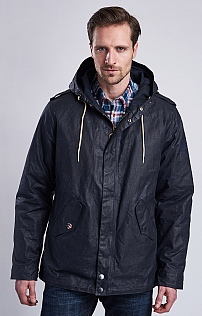 Barbour International Shell Wax Parka Jacket