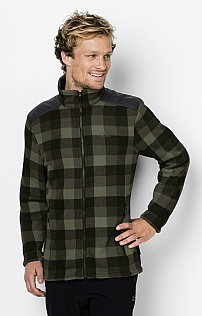 Jack Wolfskin Cabot Check Fleece Jacket