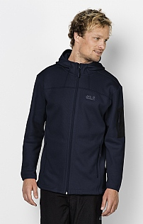 Jack Wolfskin Castle Rock Hooded Fleece Jacket