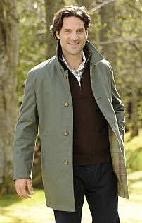 Men's Reversible Car Coat