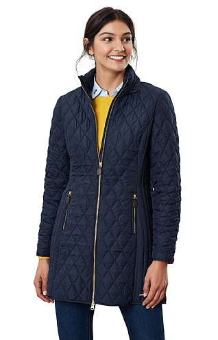 Joules Chatham Long Quilted Jacket