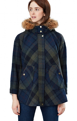 Joules Carolyn Swing Coat