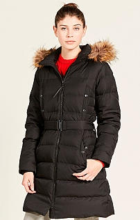 Rigdown Long Puffer Coat